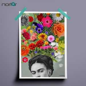 HD Printed Art Canvas Print Poster FRIDA KAHLO LOVERS Paintings
