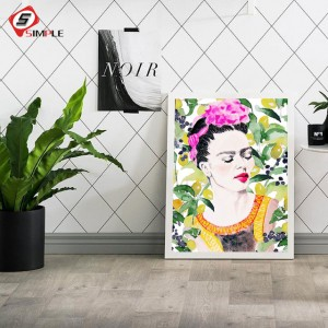 Frida Kahlo Floral Printing Posters and Prints Art Canvas