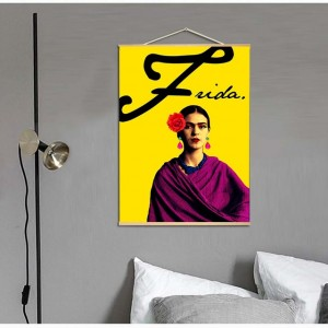 Canvas Painting Frida Kahlo Scroll Nordic Wall Art Poster Prints