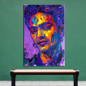 Frida kahlo Canvas Painting Figure Oil Painting Print on Canvas