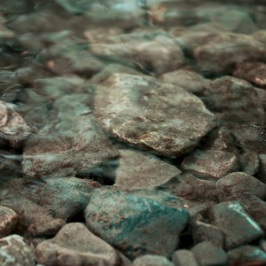 Photography of rocks under the water